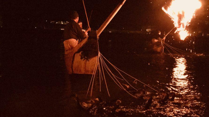 長良川鵜飼を鑑賞しました