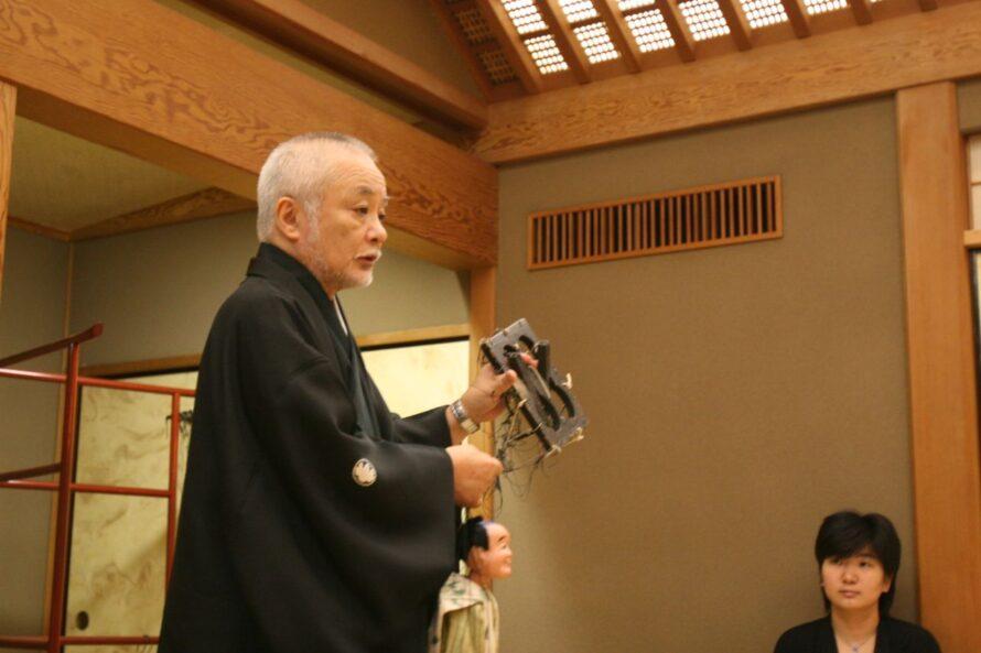 「江戸糸操り人形」 講師:結城孫三郎先生