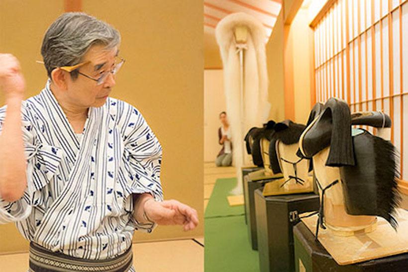 『歌舞伎の床山(とこやま)』講師:鴨治 欽吾 先生