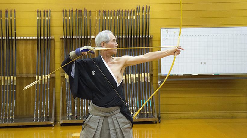 『弓道 立禅の世界』講師:飯島正大先生