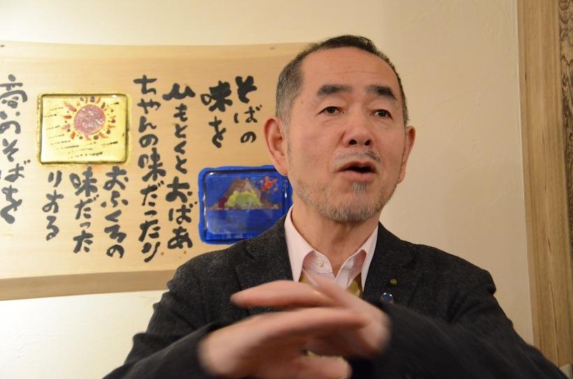 新企画「山本益博さんと巡る・江戸東京職人仕事の美食巡礼」第一回・蕎麦