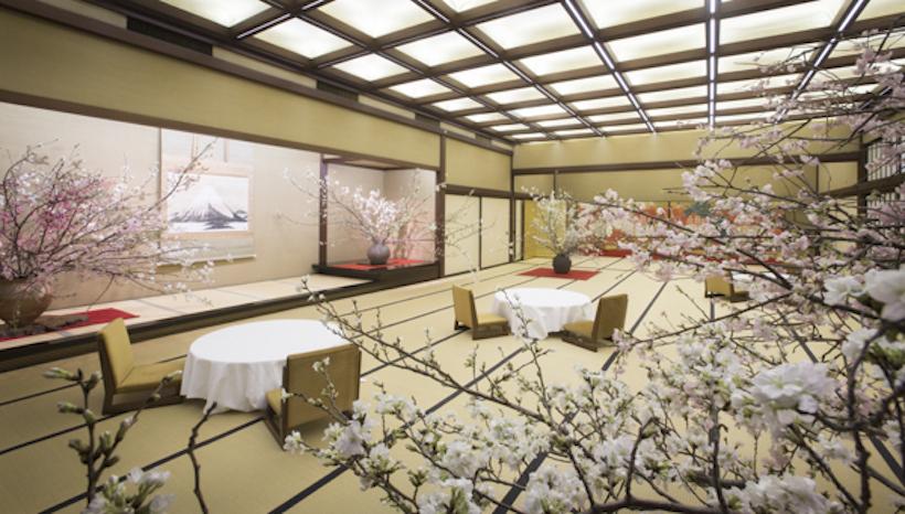 日本で一番贅沢な花見「新喜楽観桜会」を開催しました