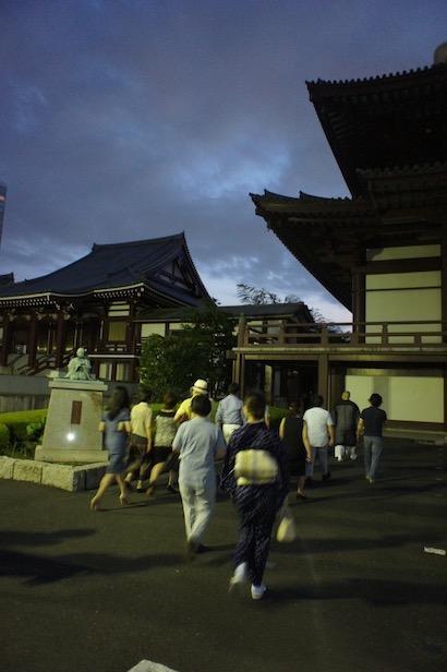 大本山 増上寺を学ぶ〜夜間特別参拝