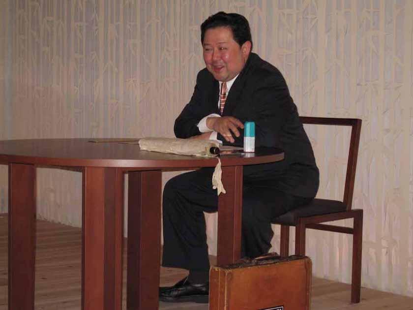 ー和歌披講〜歌会の作法ー青柳隆志先生 第二十二回和塾